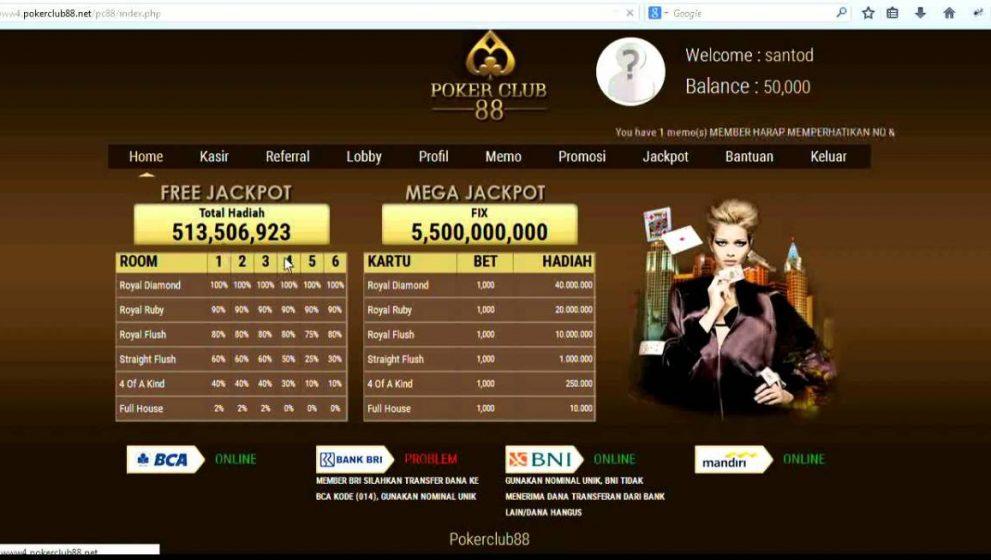 Pokerclub88 – Situs Poker Online Terbaik dan Menegangkan